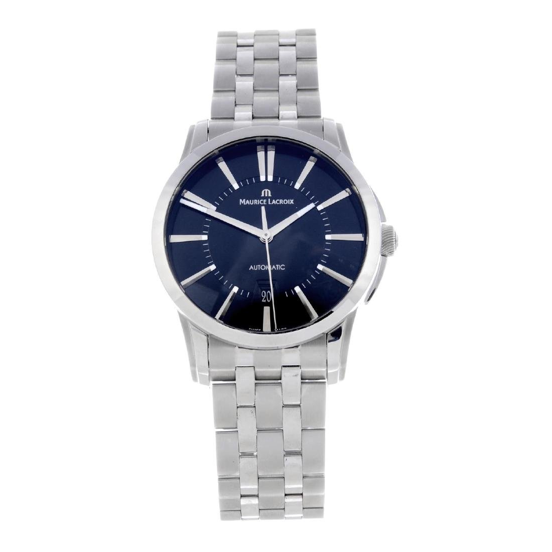MAURICE LACROIX - a gentleman's Pontos bracelet watch.