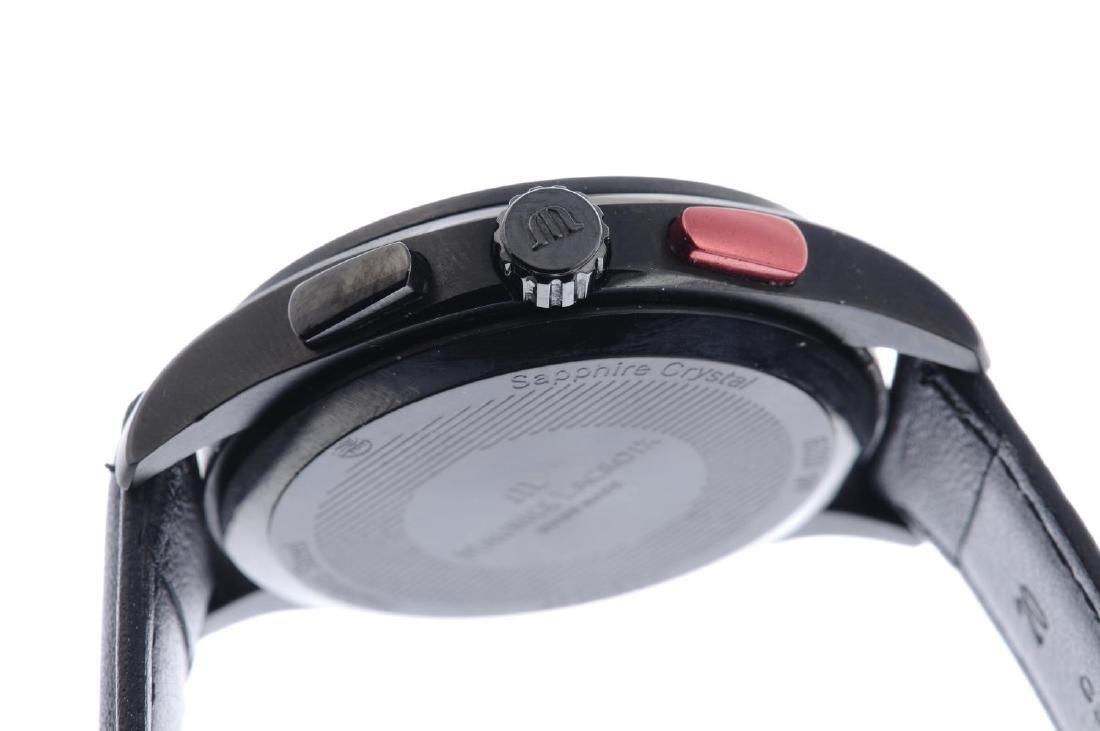 MAURICE LACROIX - a gentleman's Miros chronograph wrist - 4