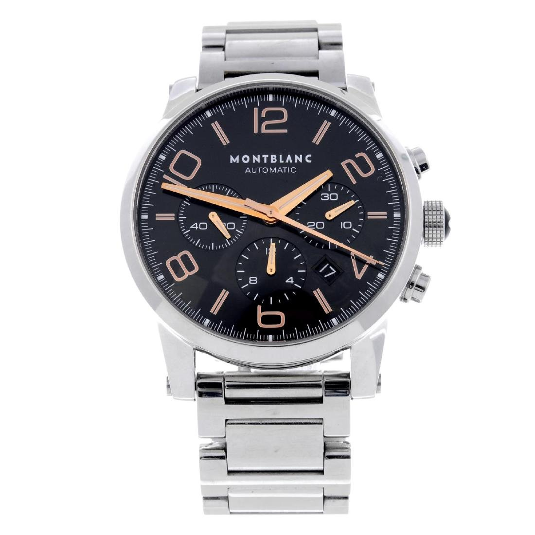 MONTBLANC - a gentleman's Timewalker chronograph
