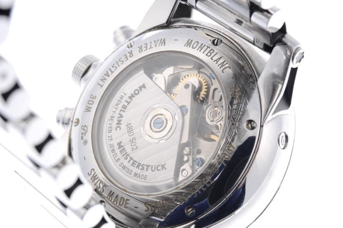 MONTBLANC - a gentleman's Timewalker chronograph - 3