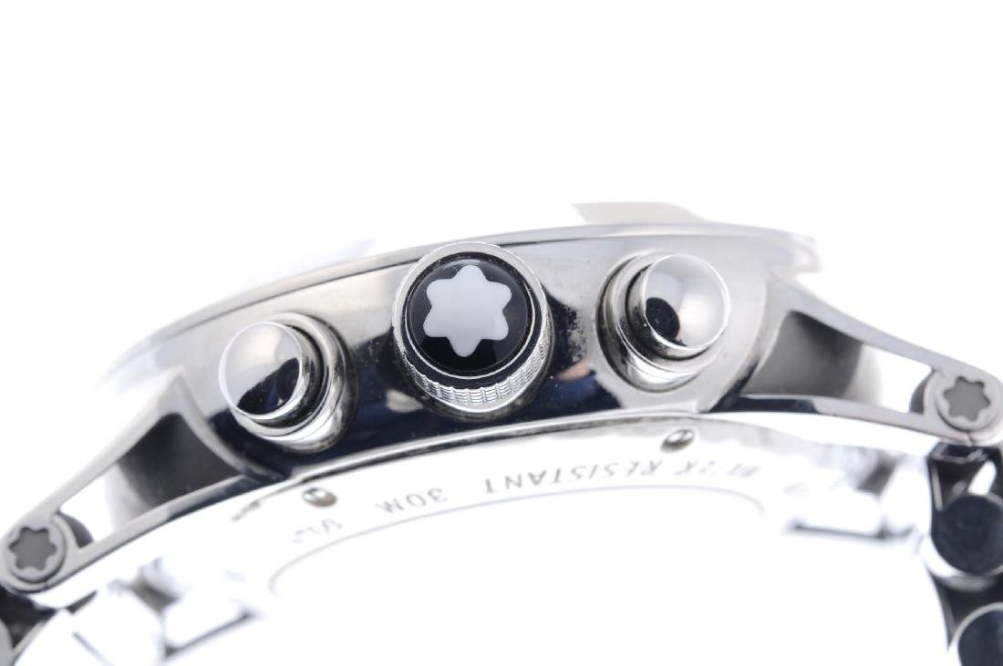 MONTBLANC - a gentleman's Timewalker chronograph - 4