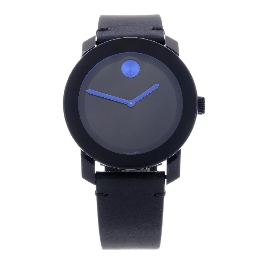 MOVADO - a gentleman's Bold wrist watch. Plastic case