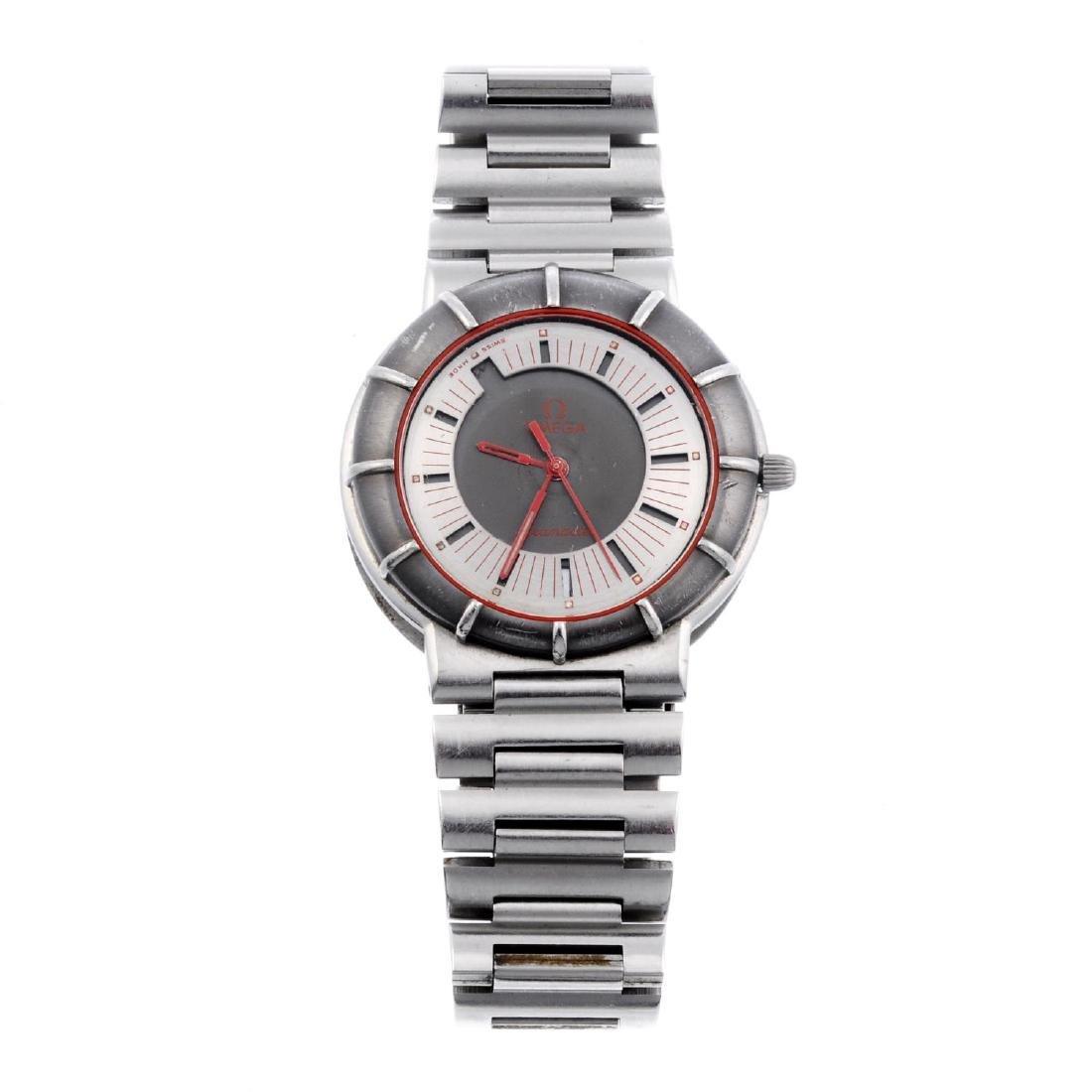 OMEGA - a mid-size Seamaster Dynamic bracelet watch.