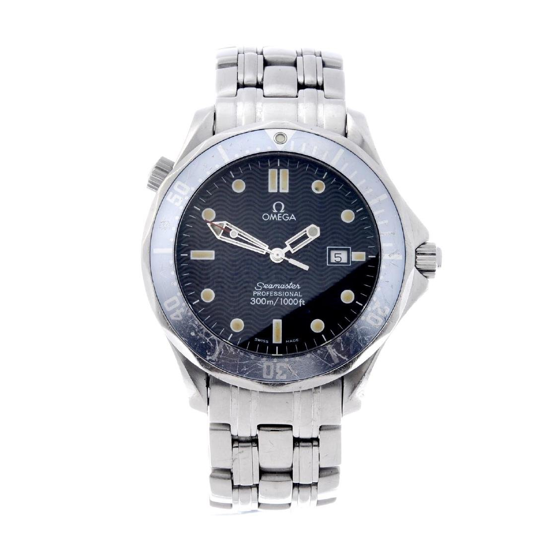 OMEGA - a gentleman's Seamaster Professional 300M