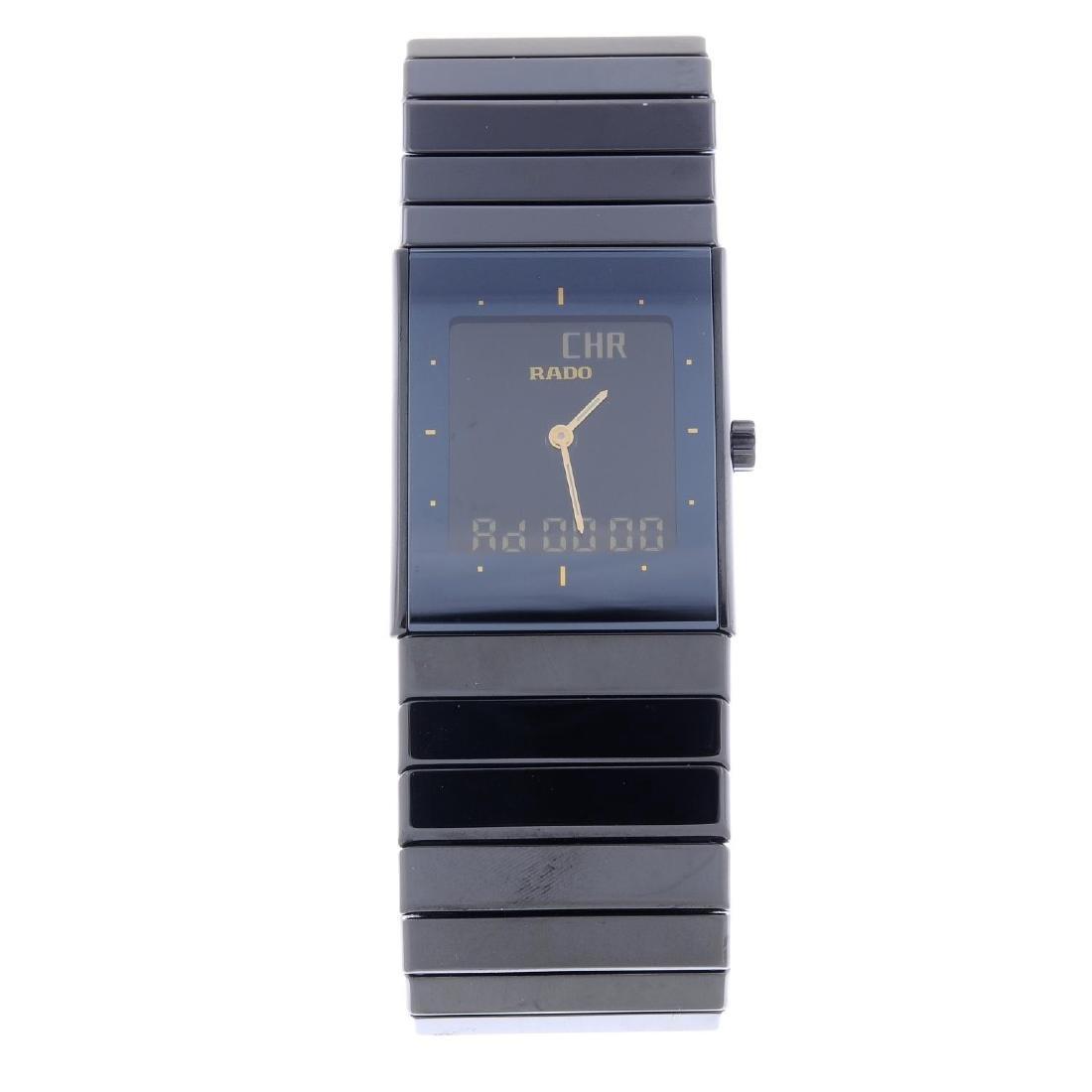 RADO - a gentleman's bi-material DiaStar bracelet