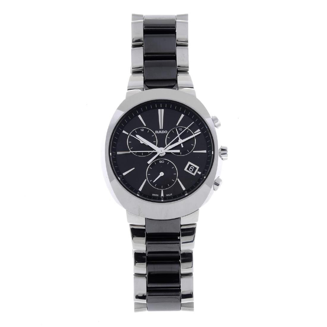RADO - a gentleman's D-Star chronograph bracelet watch.
