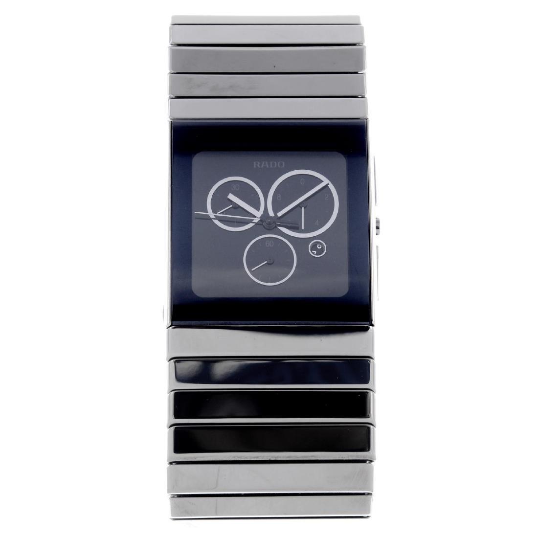 RADO - a gentleman's DiaStar chronograph bracelet