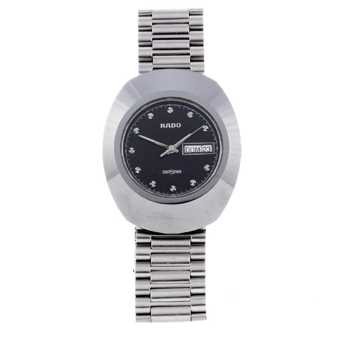 RADO - a gentleman's DiaStar bracelet watch. Ceramic