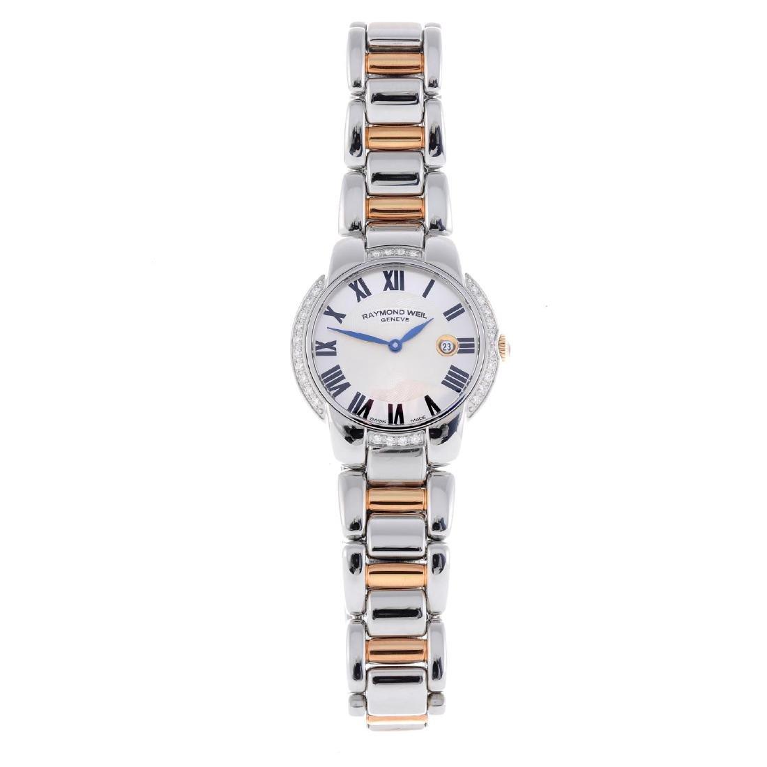 RAYMOND WEIL - a lady's Jasmine bracelet watch.
