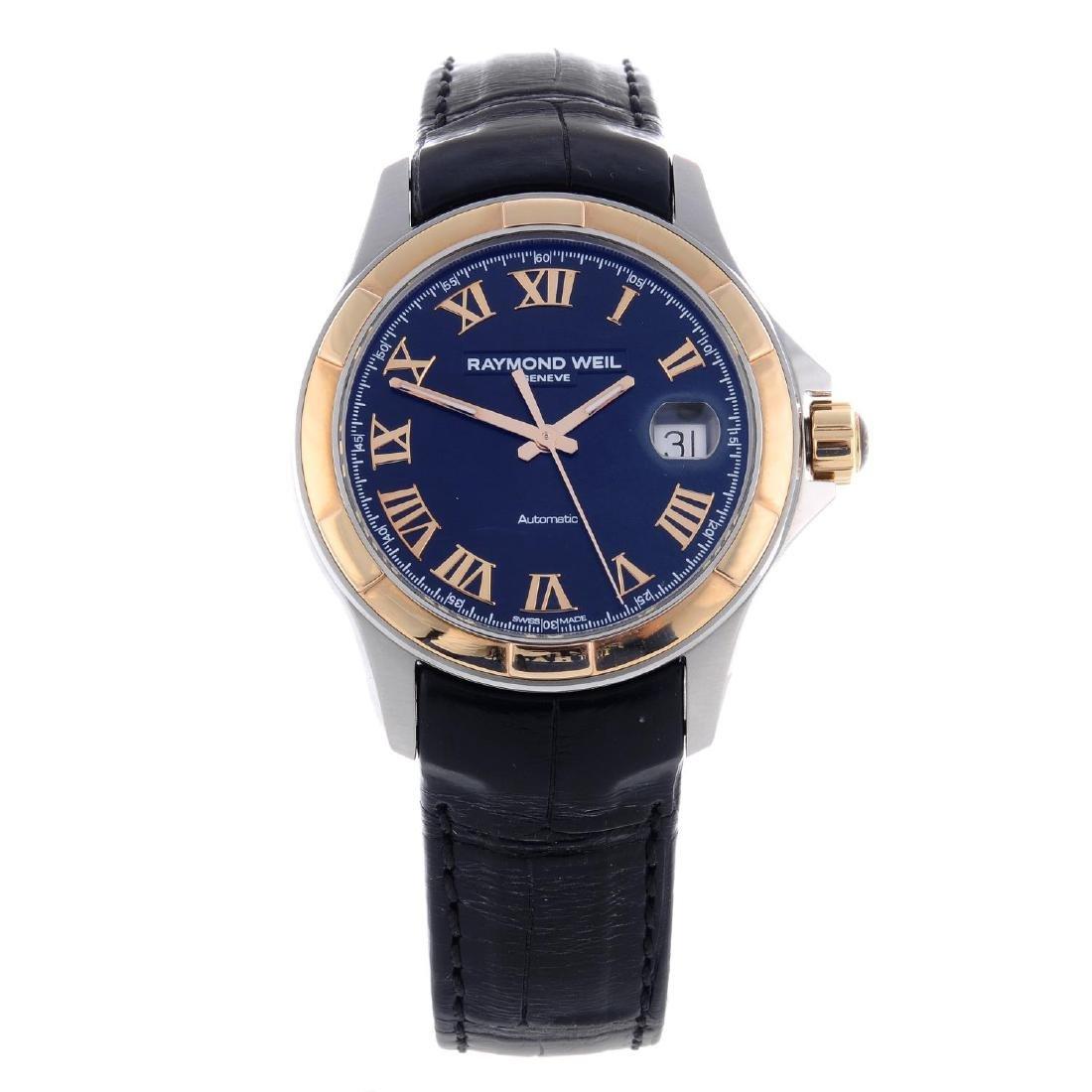 RAYMOND WEIL - a gentleman's Parsifal wrist watch.