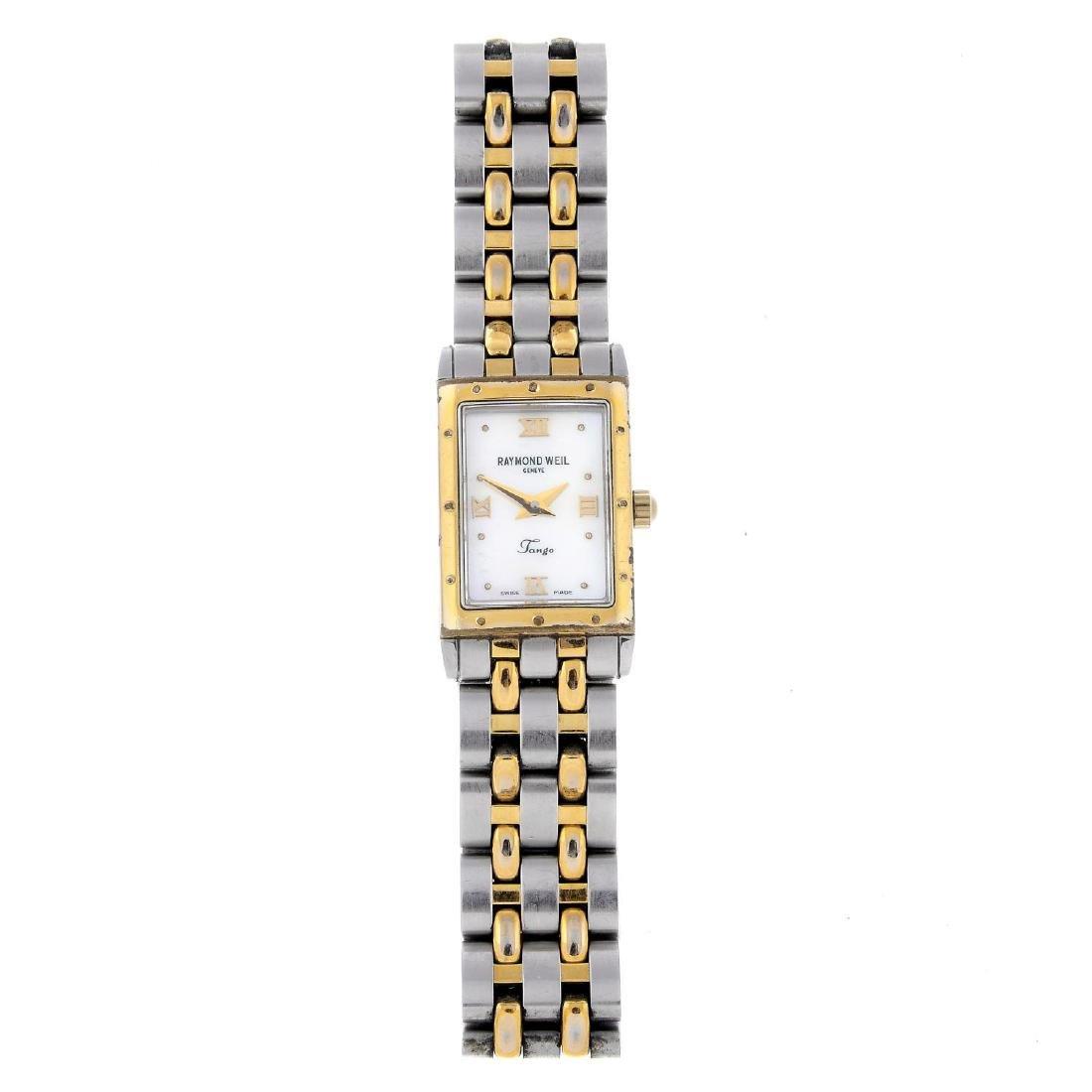 RAYMOND WEIL - a lady's Tango bracelet watch. Stainless