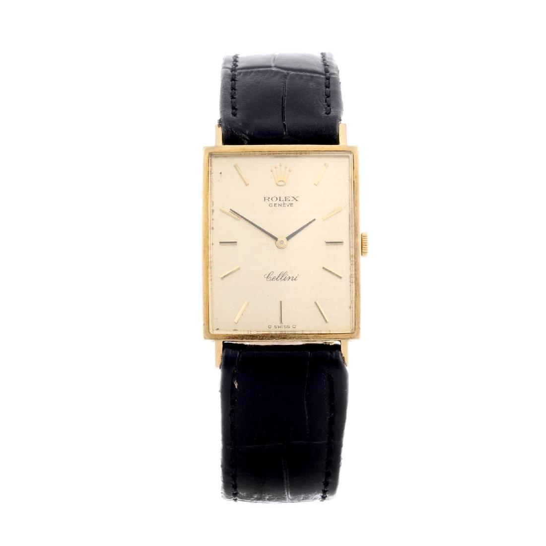 ROLEX - a gentleman's Cellini wrist watch. Circa 1973.