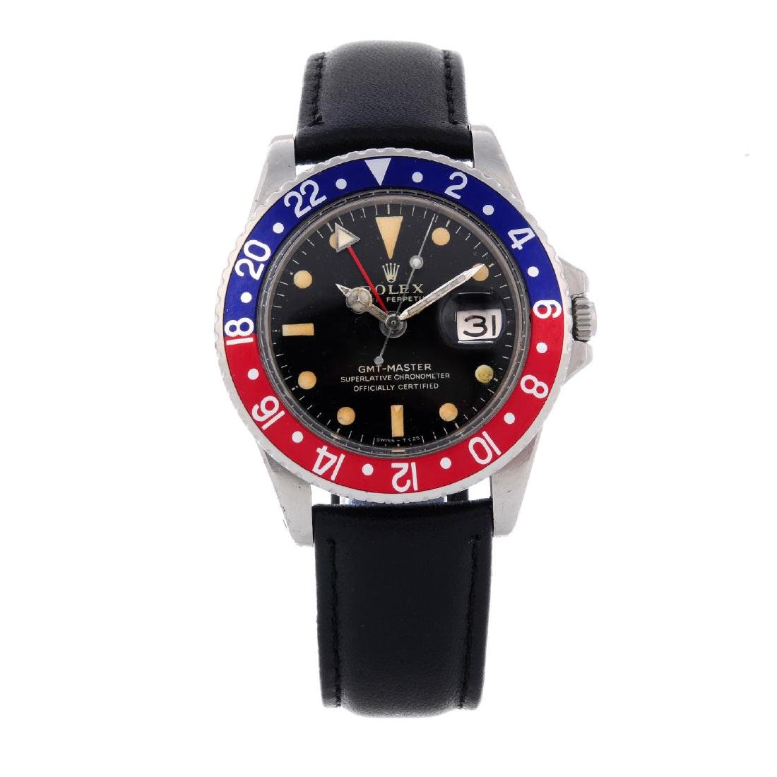 ROLEX - a gentleman's Oyster Perpetual GMT-Master wrist