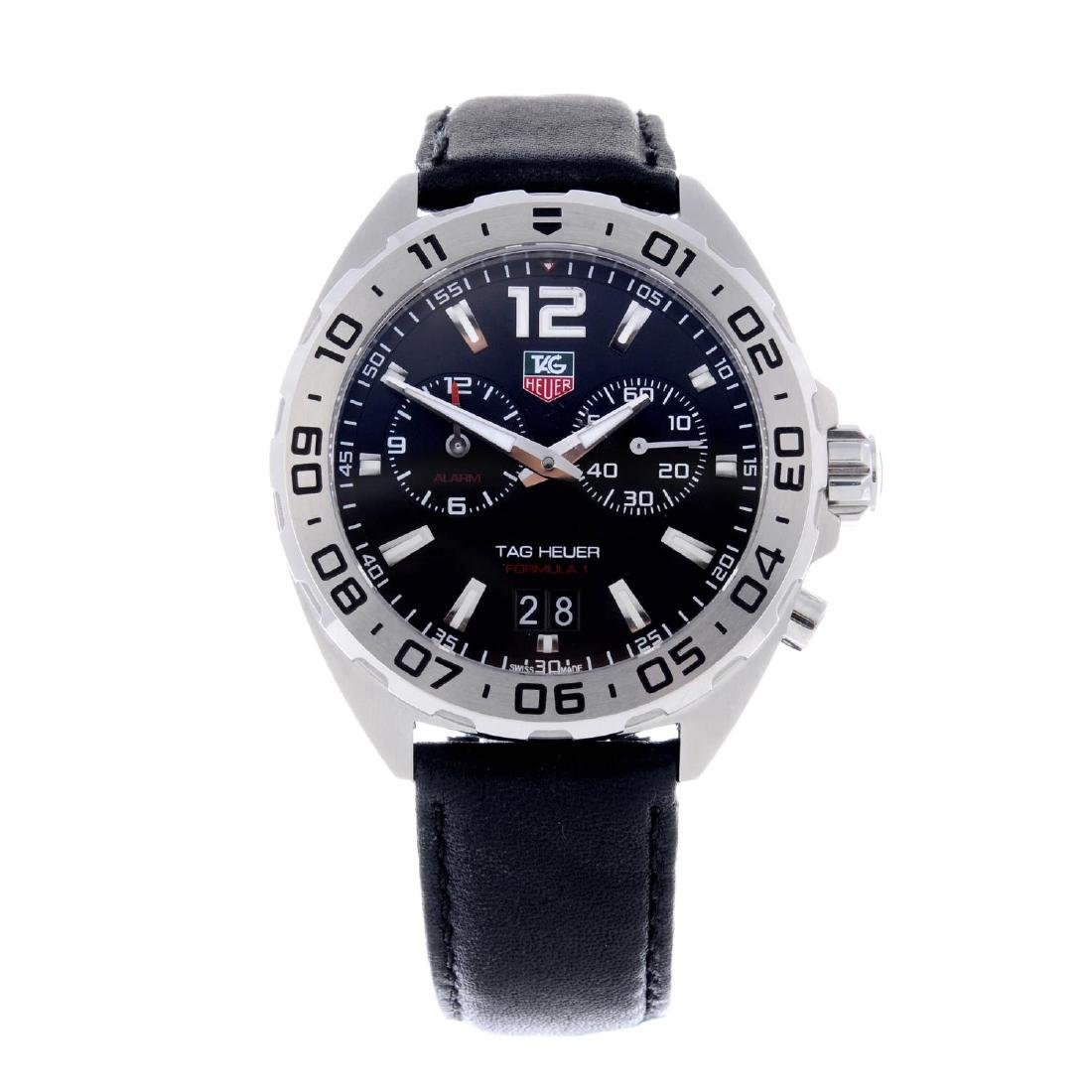 TAG HEUER - a gentleman's Formula 1 Alarm wrist watch.