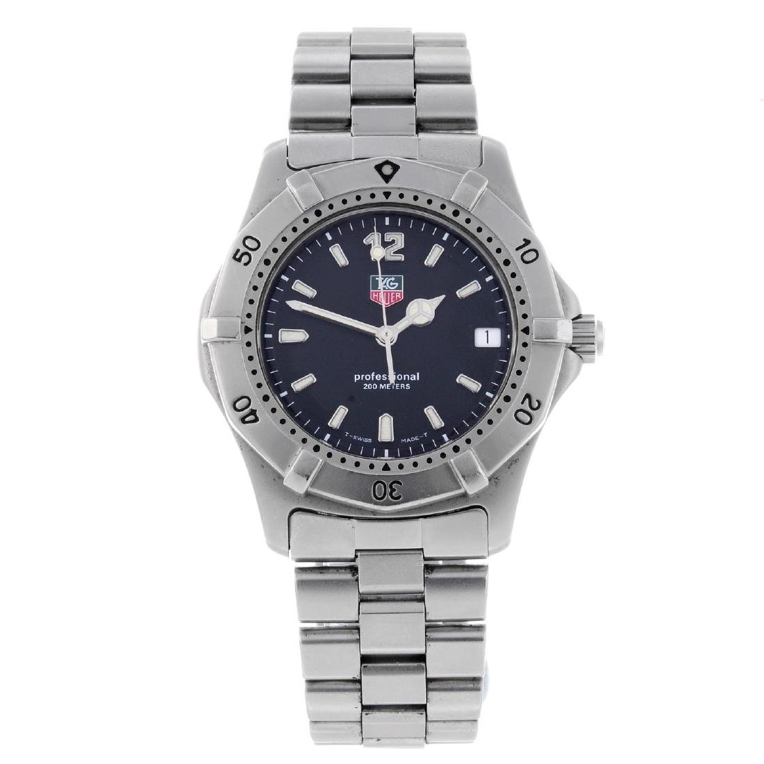 TAG HEUER - a gentleman's 2000 Series bracelet watch.