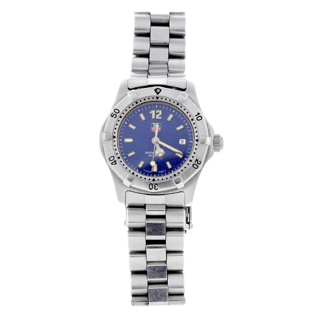 TAG HEUER - a lady's 2000 Series bracelet watch.