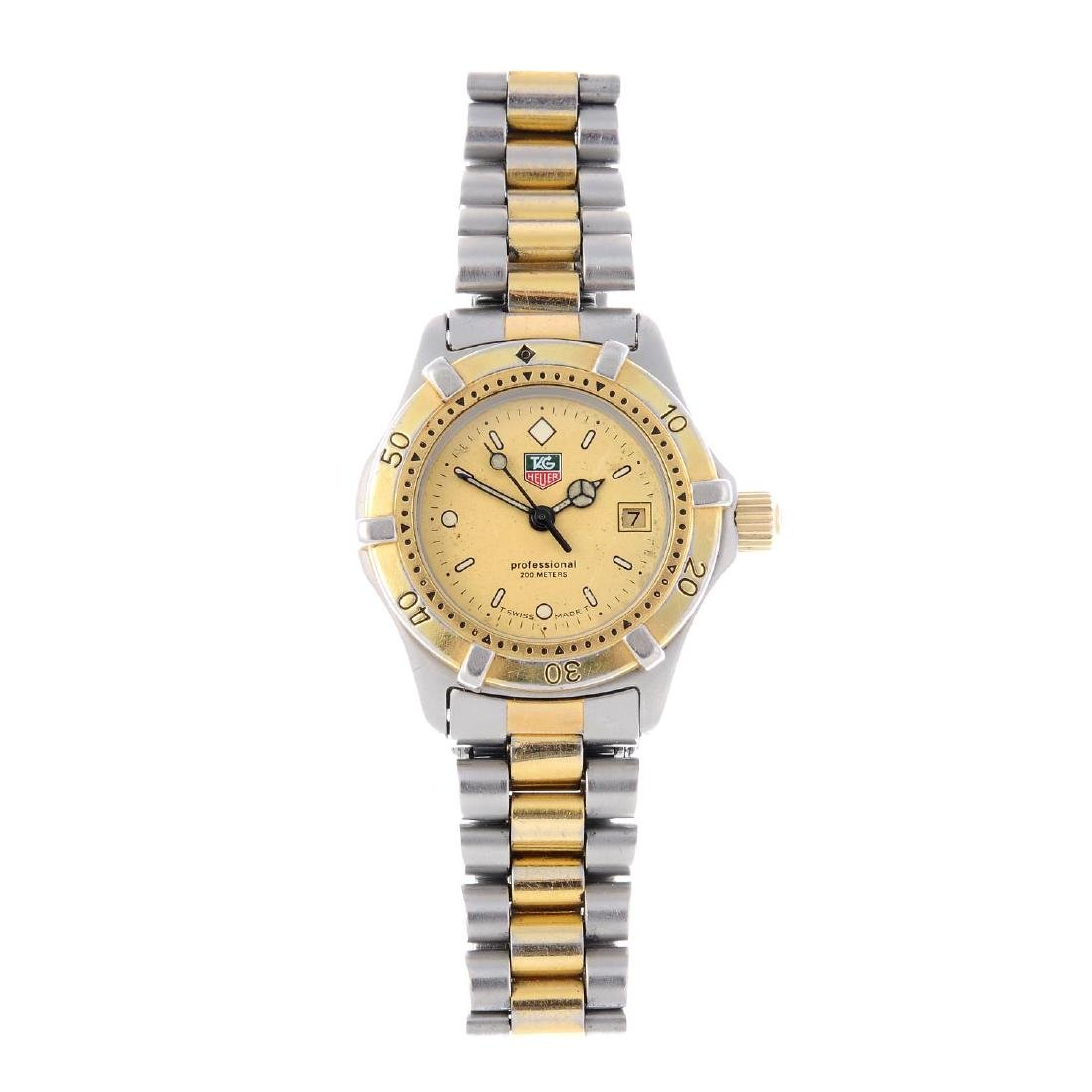 TAG HEUER - a lady's 2000 Series Professional bracelet