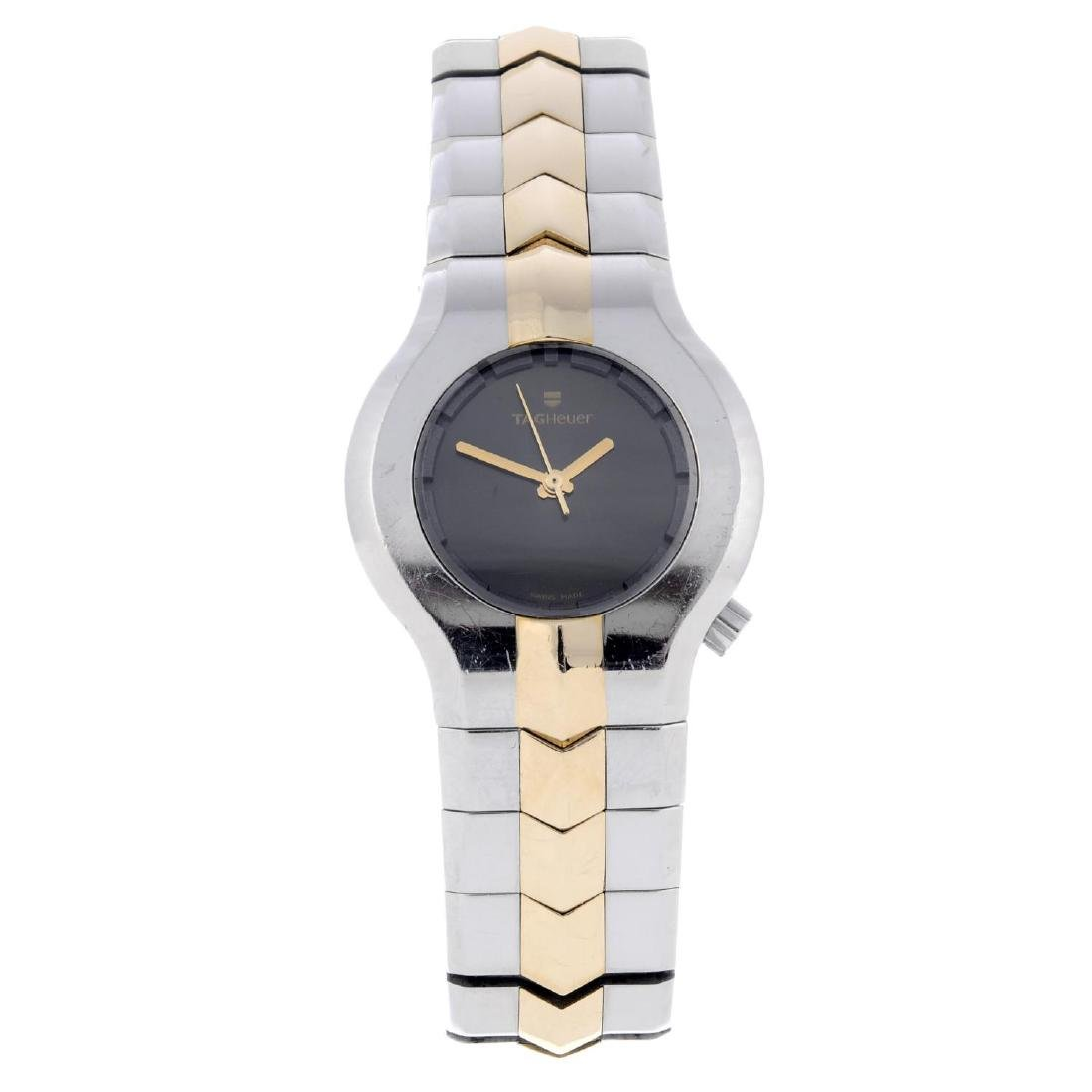 TAG HEUER -  a lady's Alter Ego bracelet watch.
