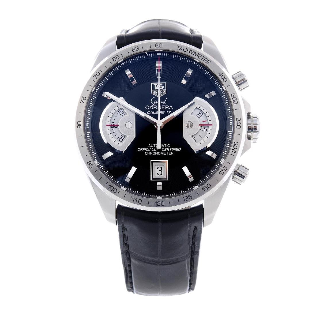 TAG HEUER - a gentleman's Grand Carrera Calibre 17
