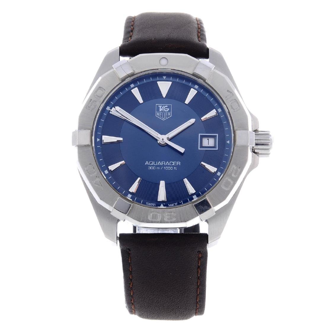 TAG HEUER - a gentleman's Aquaracer wrist watch.