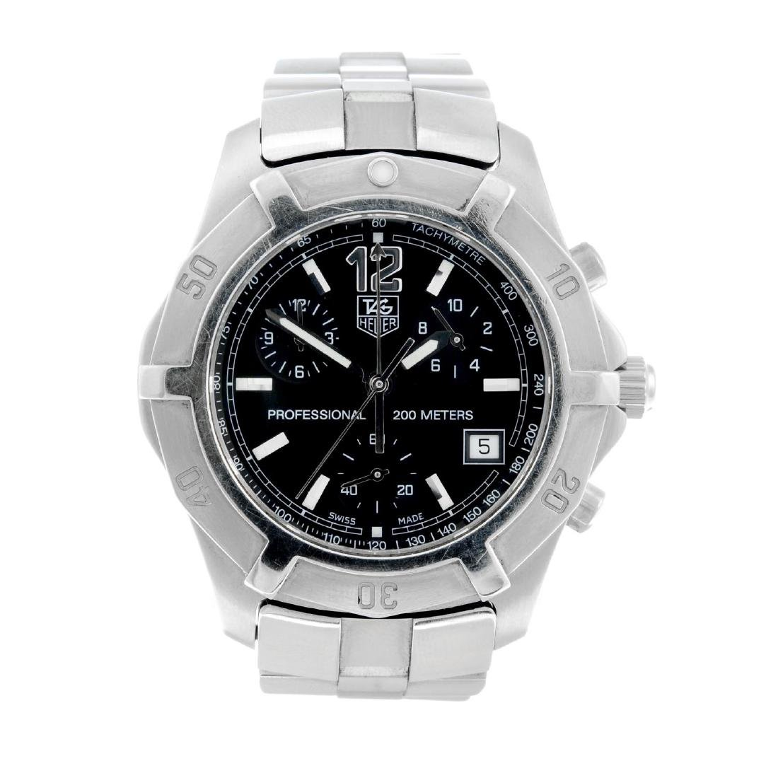 TAG HEUER - a gentleman's 2000 Exclusive chronograph
