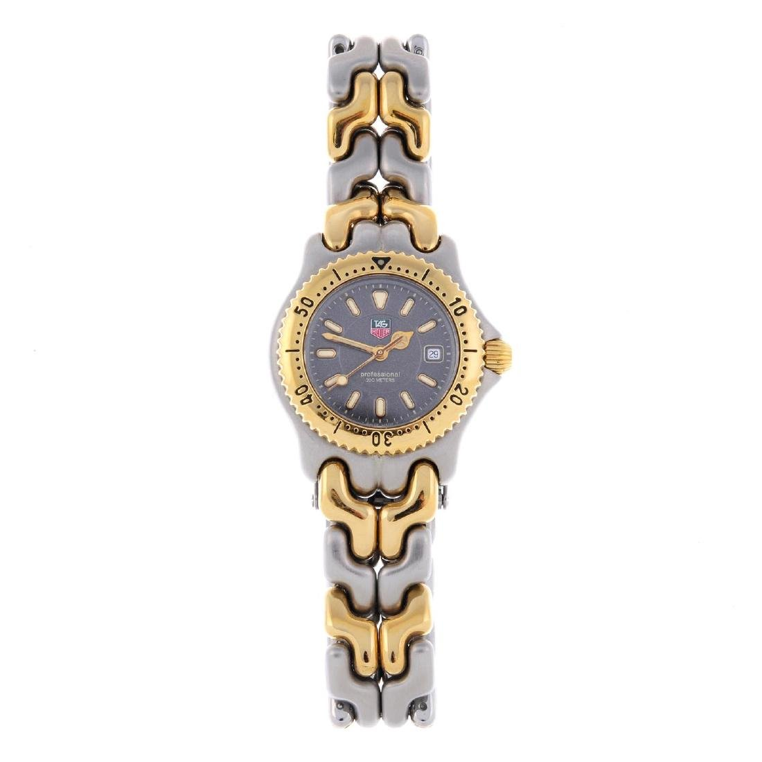 TAG HEUER - a lady's S/el bracelet watch. Stainless