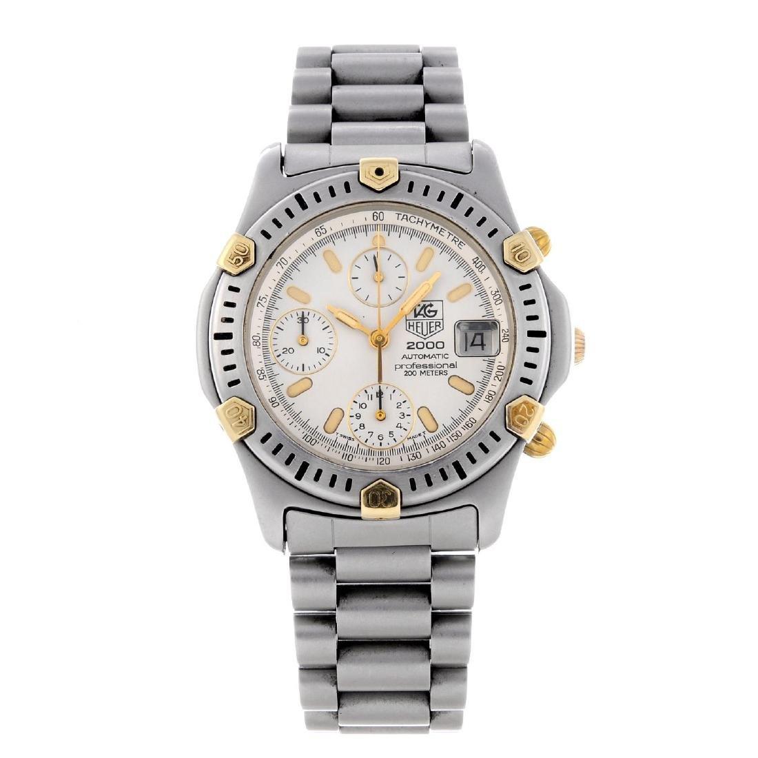TAG HEUER - a gentleman's 2000 Series chronograph
