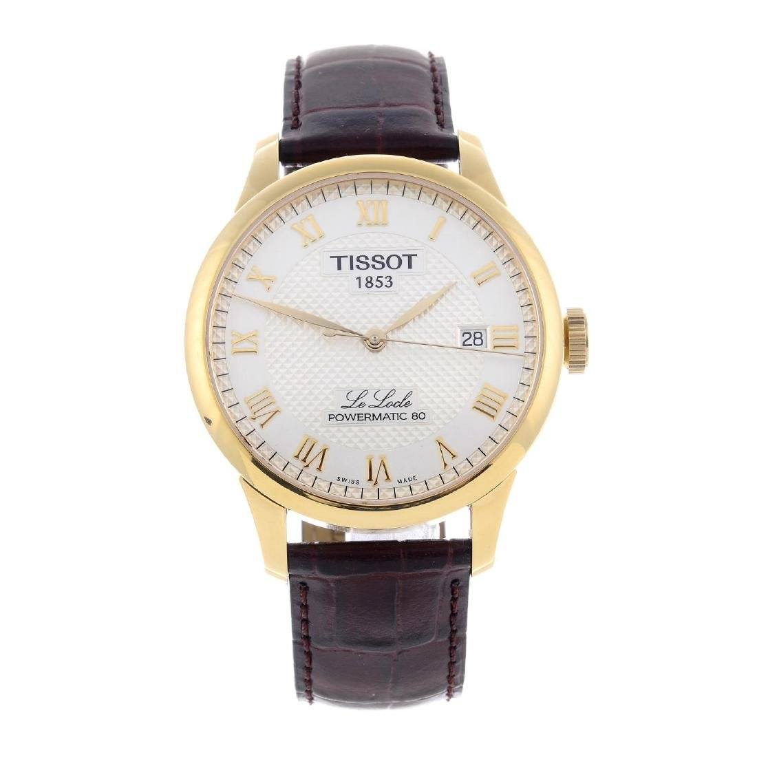 CURRENT MODEL: TISSOT - a gentleman's Le Locle wrist