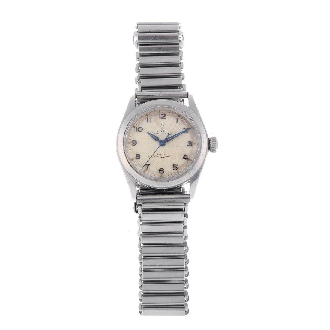 TUDOR - a mid-size Oyster Prince 31 bracelet watch.