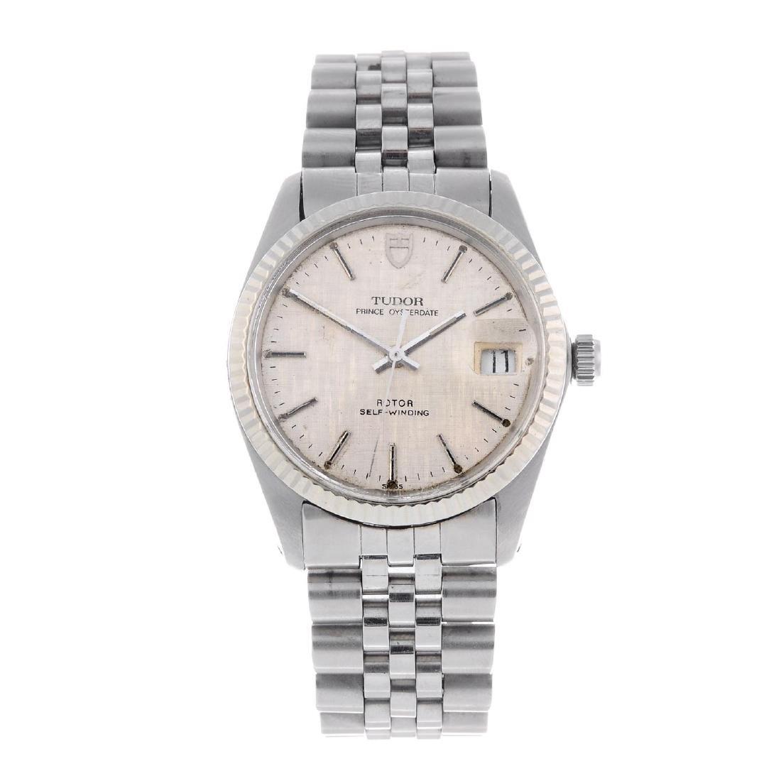 TUDOR - a gentleman's Prince Oysterdate bracelet watch.