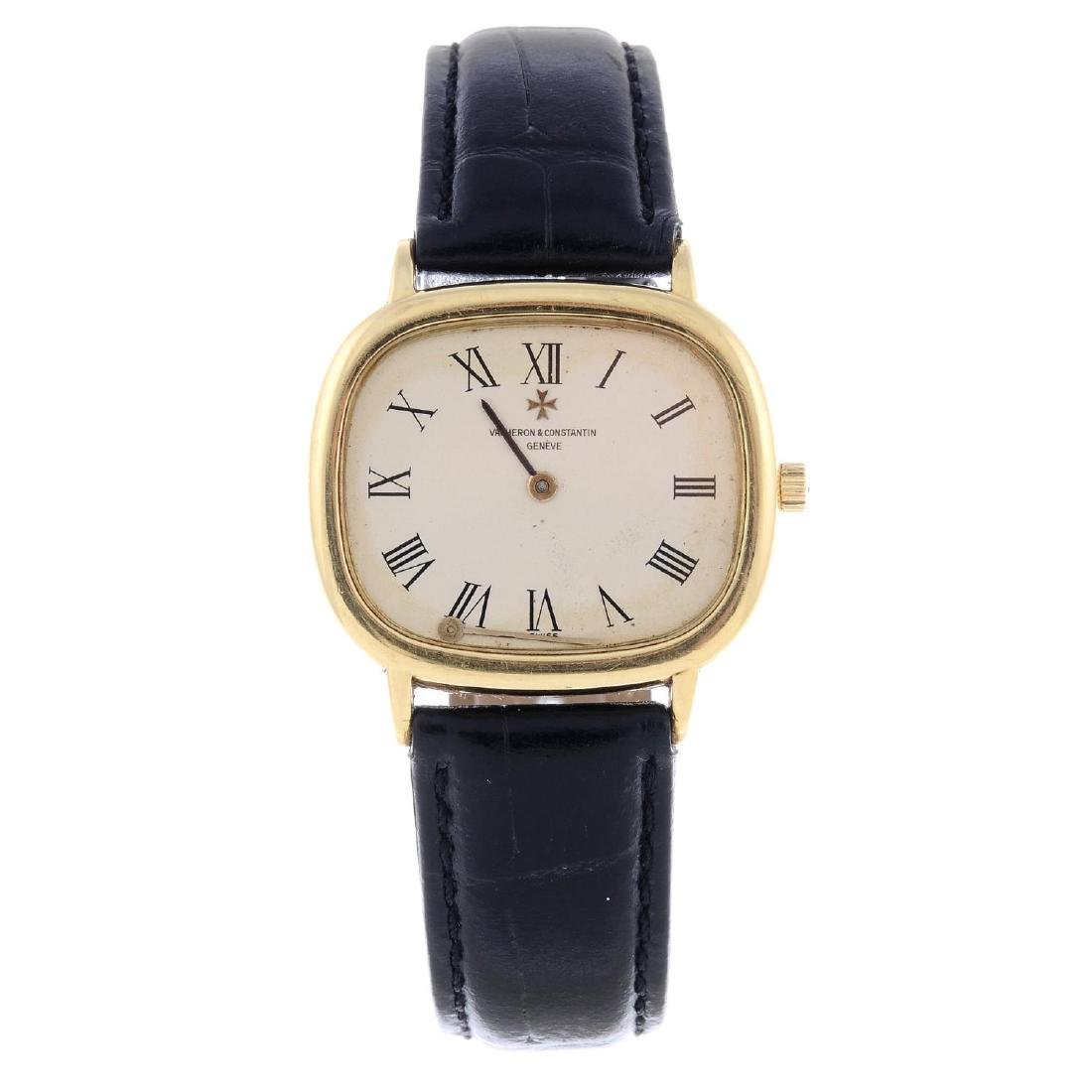 VACHERON CONSTANTIN -  a gentleman's wrist watch.
