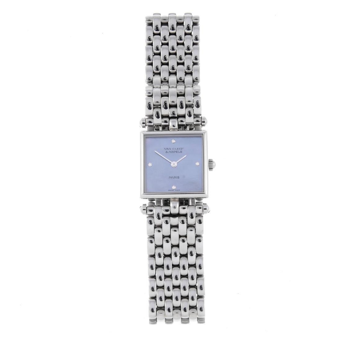 VAN CLEEF & ARPELS - a lady's Classique bracelet watch.