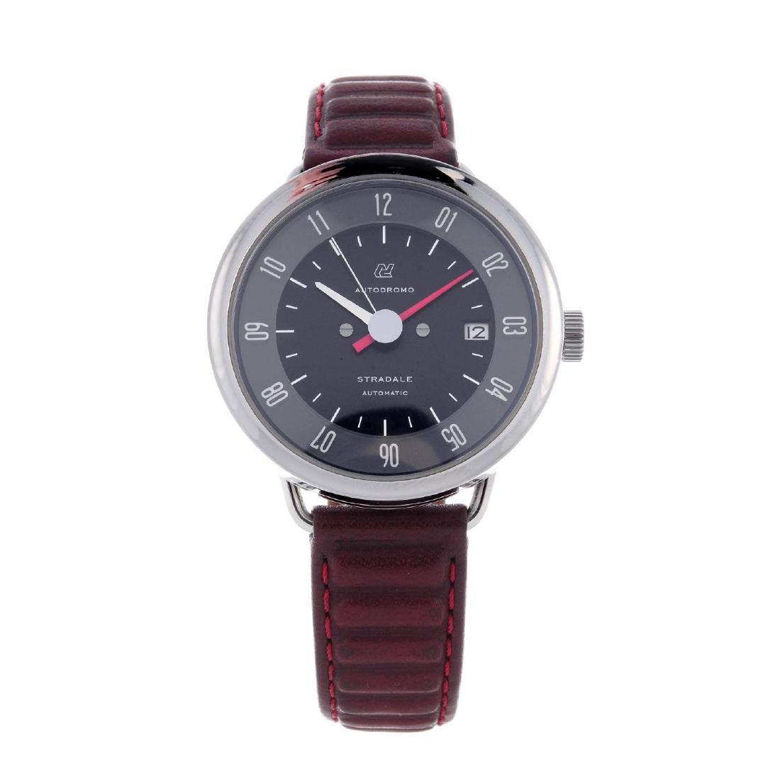 AUTODROMO - a gentleman's Stradale wrist watch.