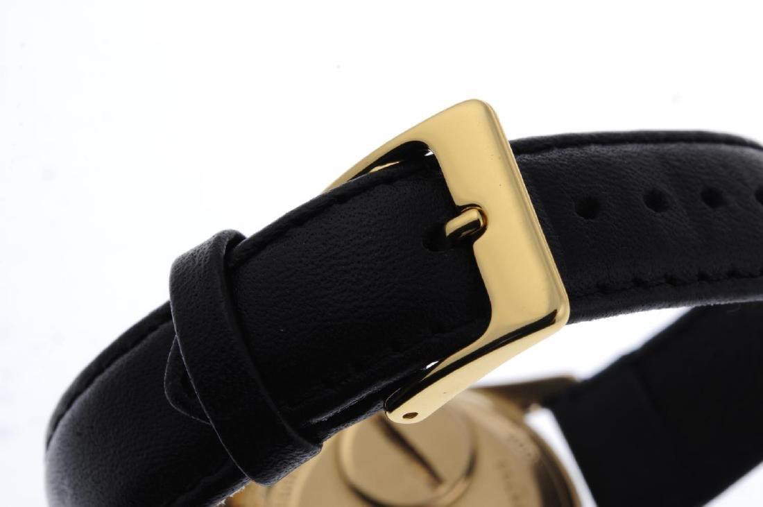 BULOVA - a gentleman's Accutron wrist watch. 18ct - 2