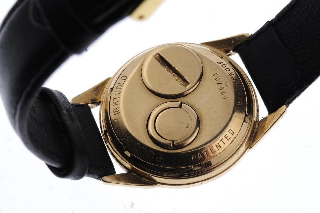 BULOVA - a gentleman's Accutron wrist watch. 18ct - 3