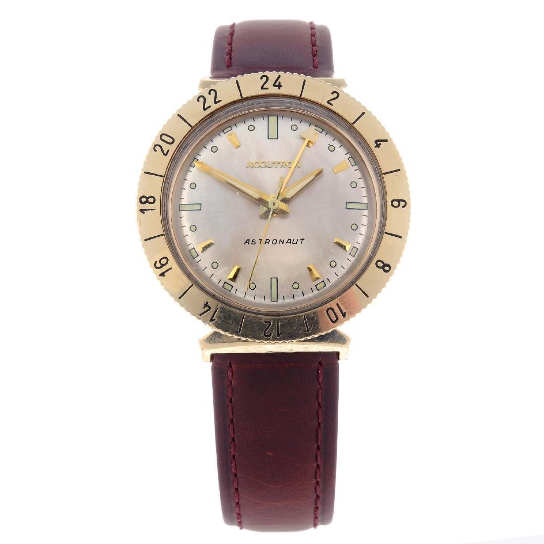 BULOVA - a gentleman's Accutron Astronaut wrist watch.