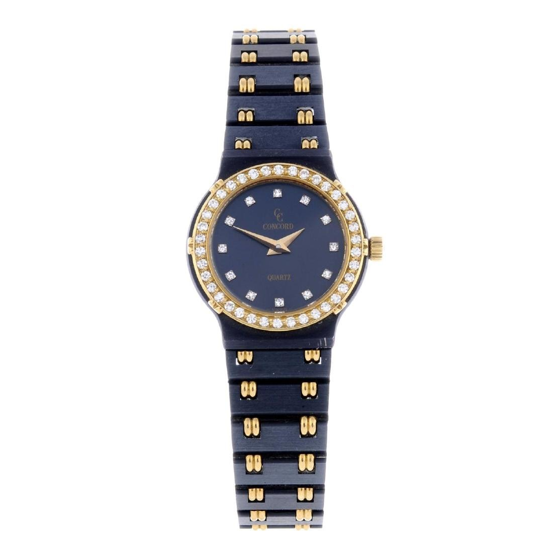 CONCORD - a lady's La Costa bracelet watch. PVD-treated