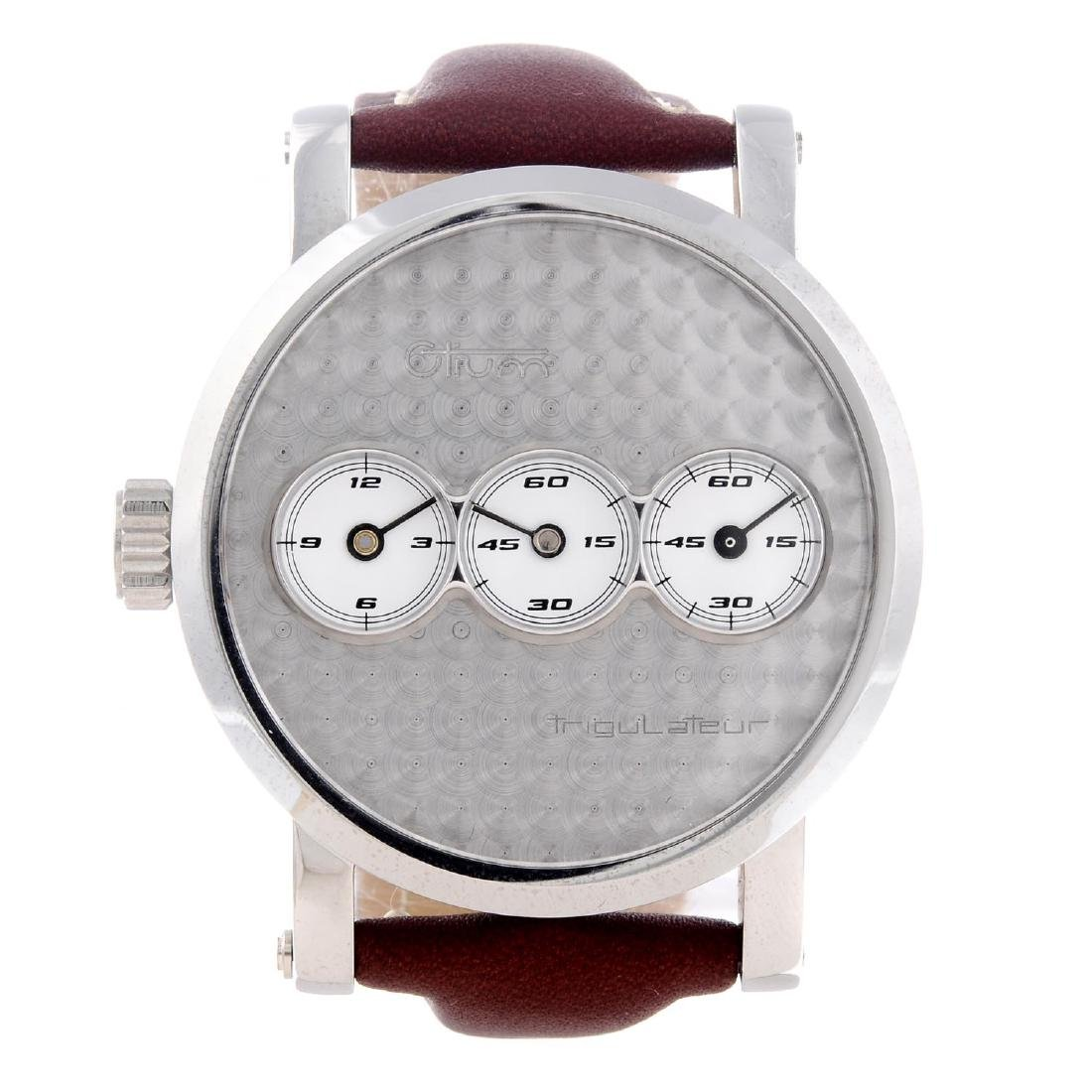OTIUM - a gentleman's Trigulateur wrist watch.