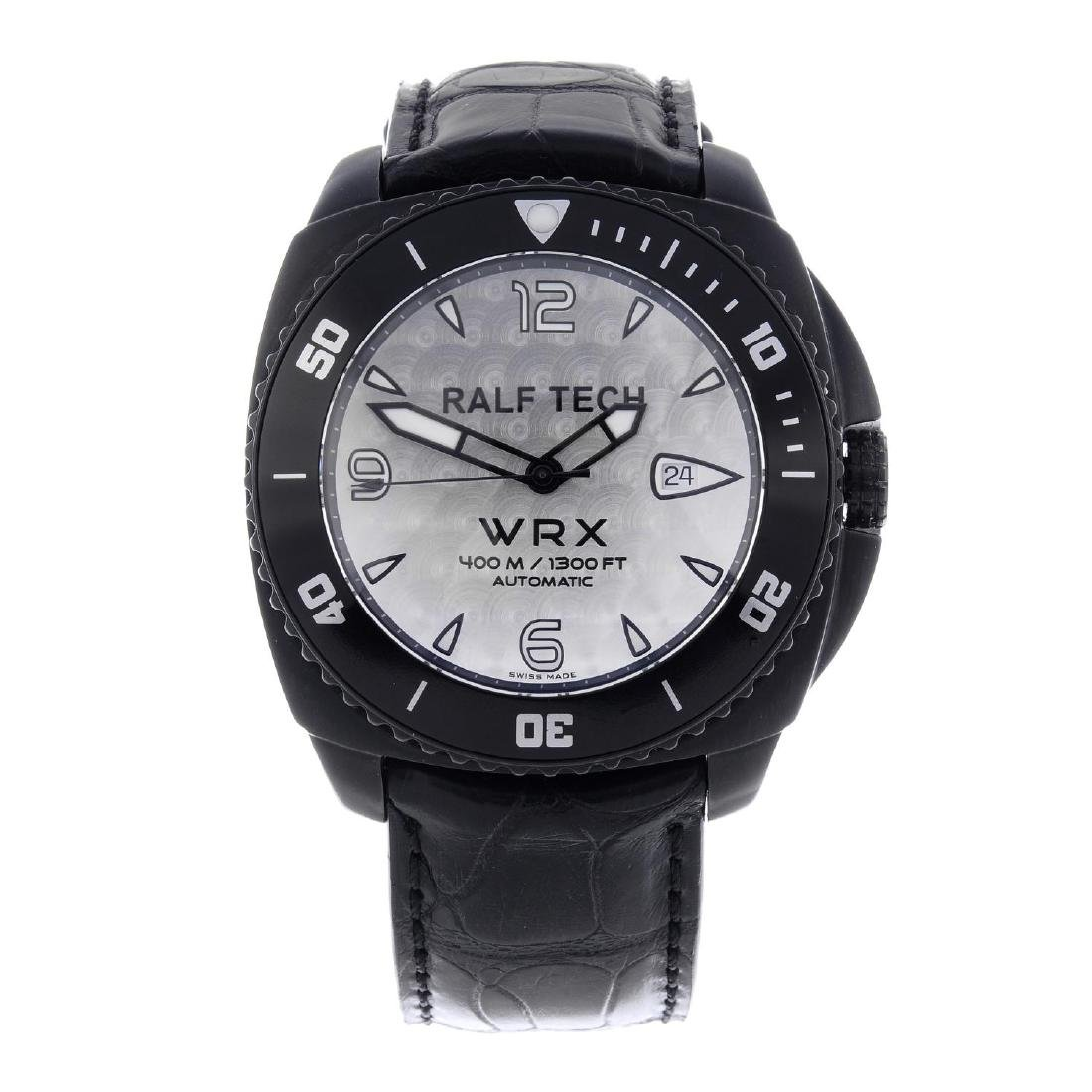 RALF TECH - a gentleman's WRX wrist watch. PVD-treated
