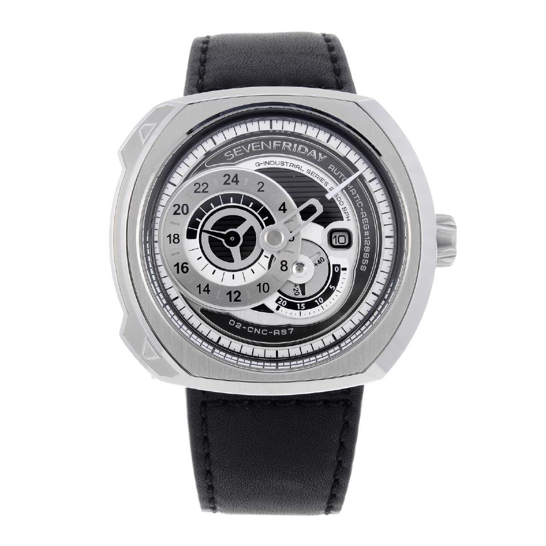 SEVENFRIDAY - a gentleman's Q1/01 wrist watch.