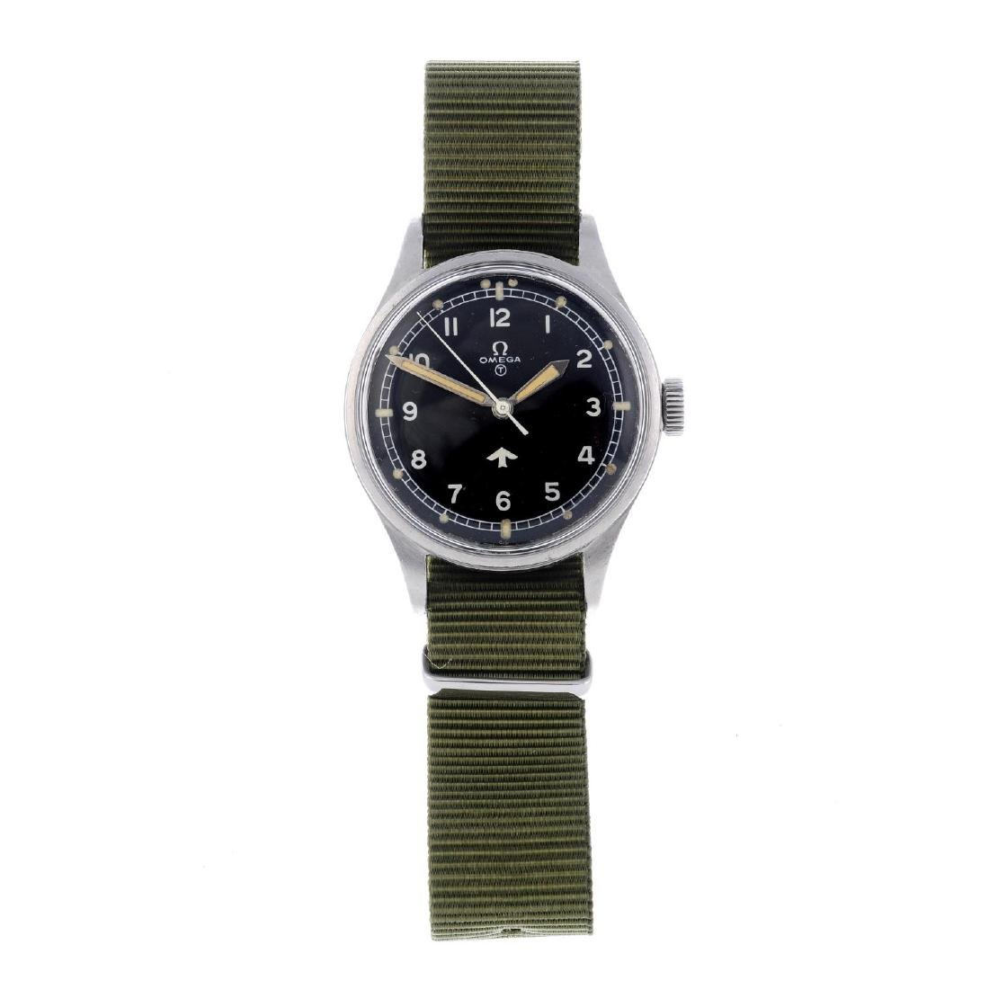OMEGA - a gentleman's military issue wrist watch.
