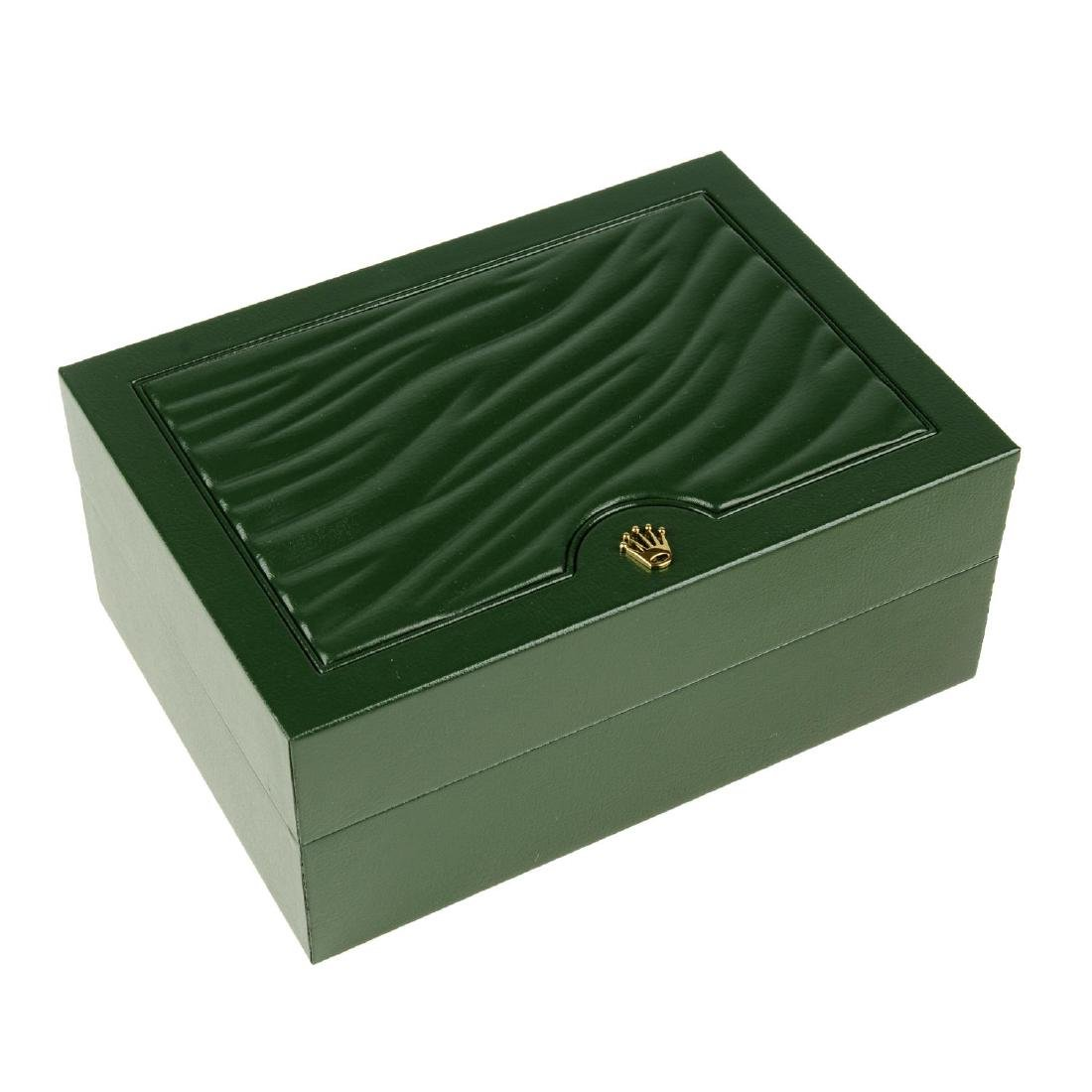 ROLEX - a complete watch box
