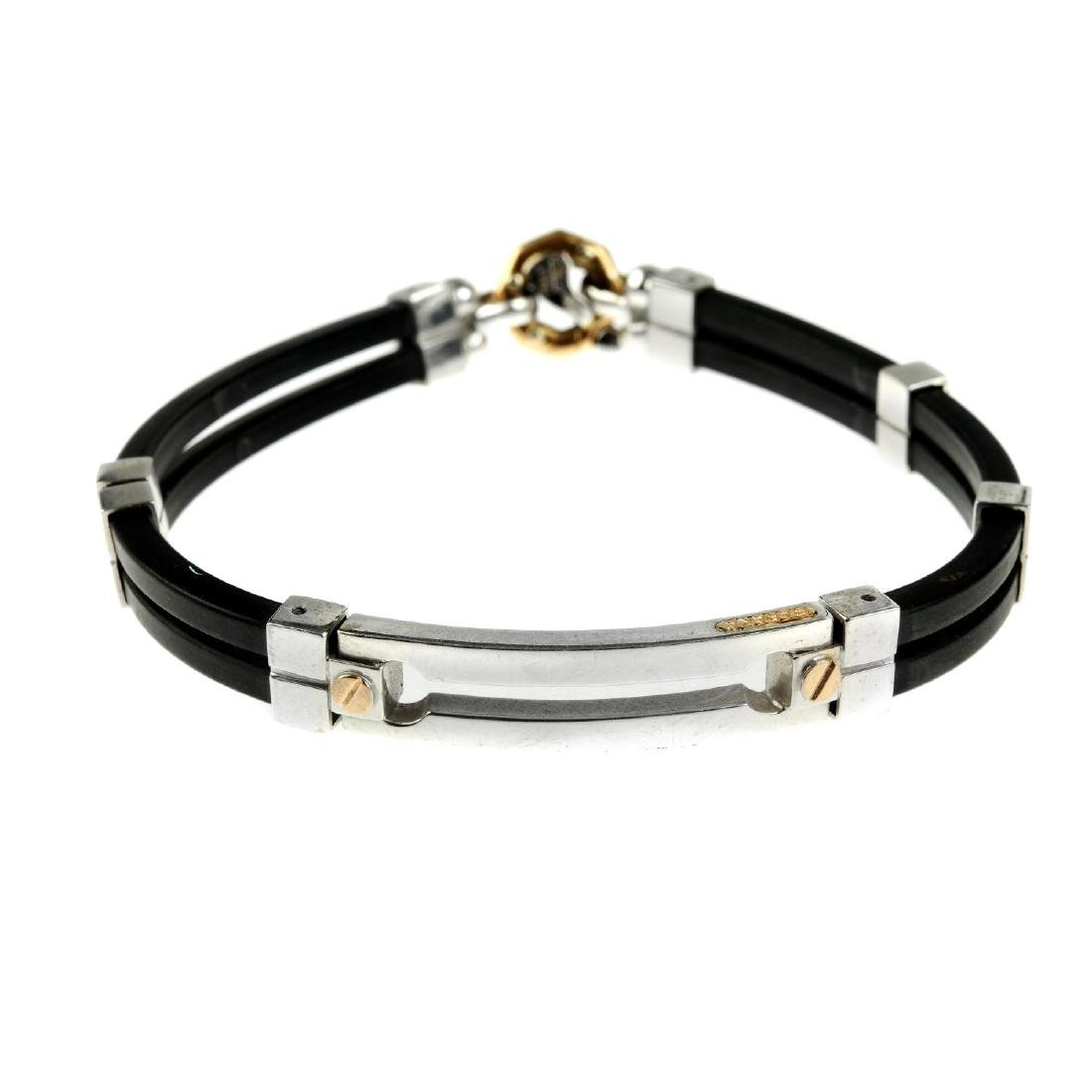BARAKA - a bracelet with diamond accent. The