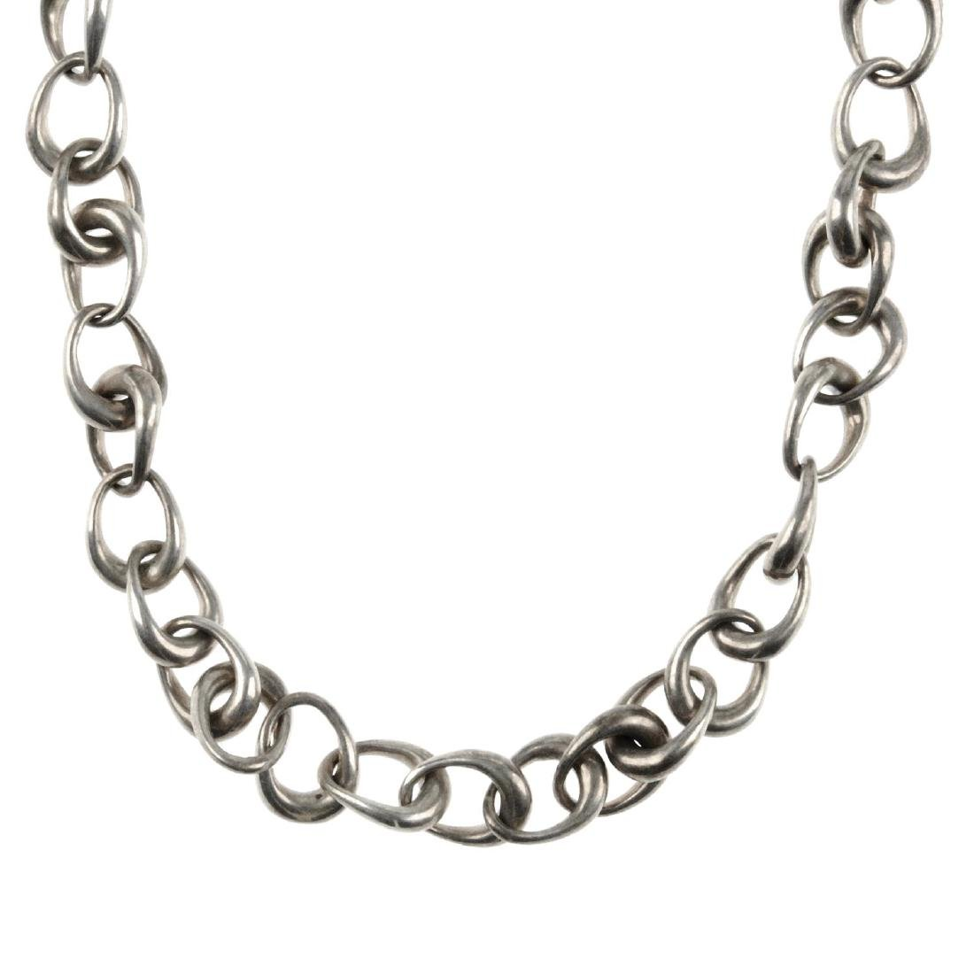GEORG JENSEN - a necklace. Designed as a series of