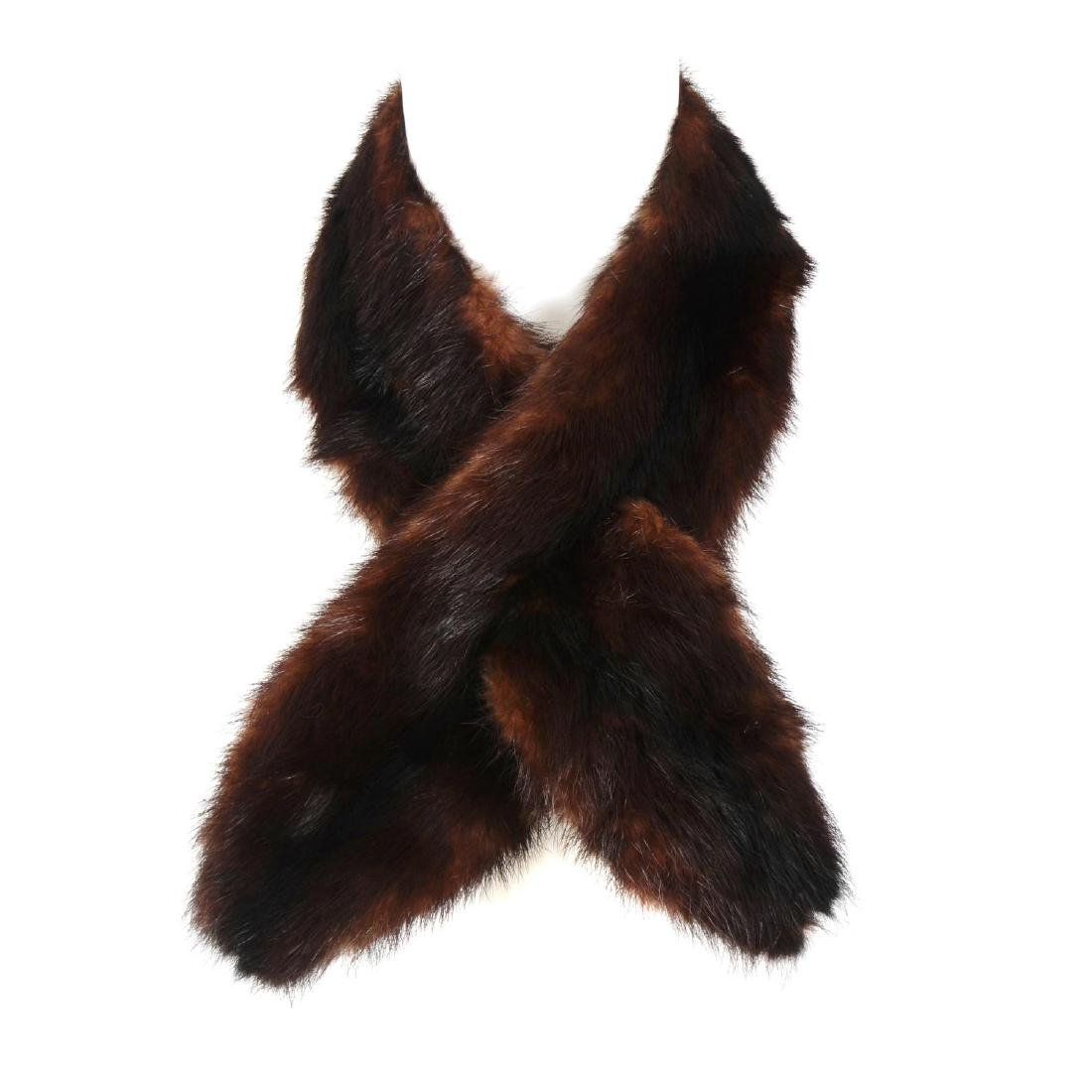 A selection of fur accessories. To include four fur