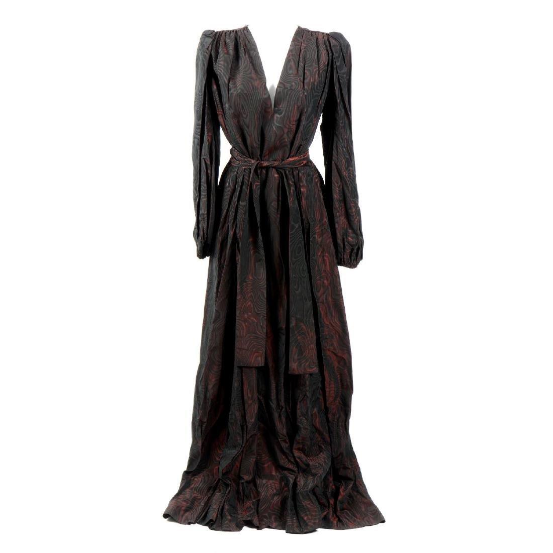 YVES SAINT LAURENT - a Rive Gauche dress. The 1970s