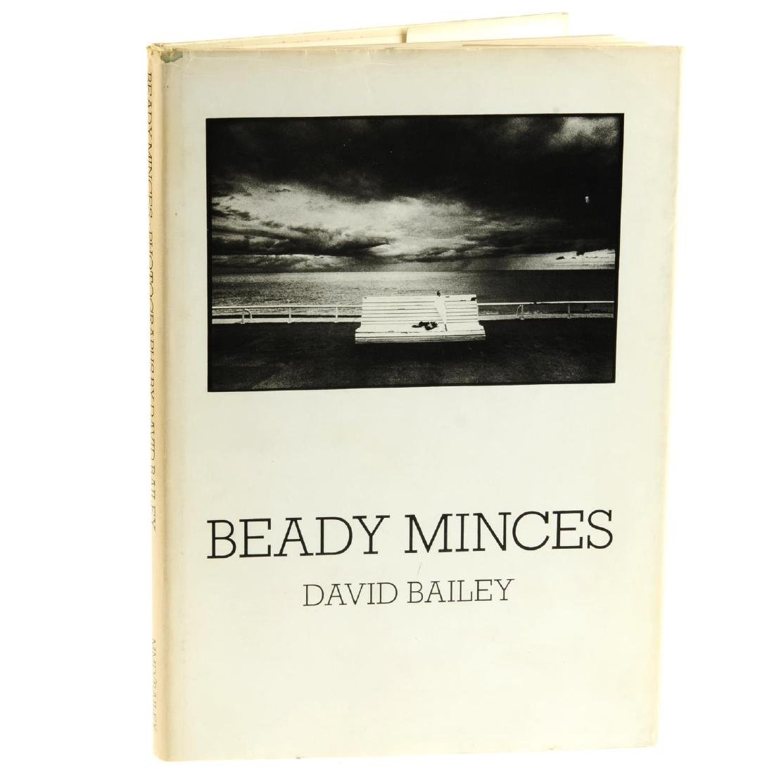 David Bailey - Beady Minces - a signed book, with