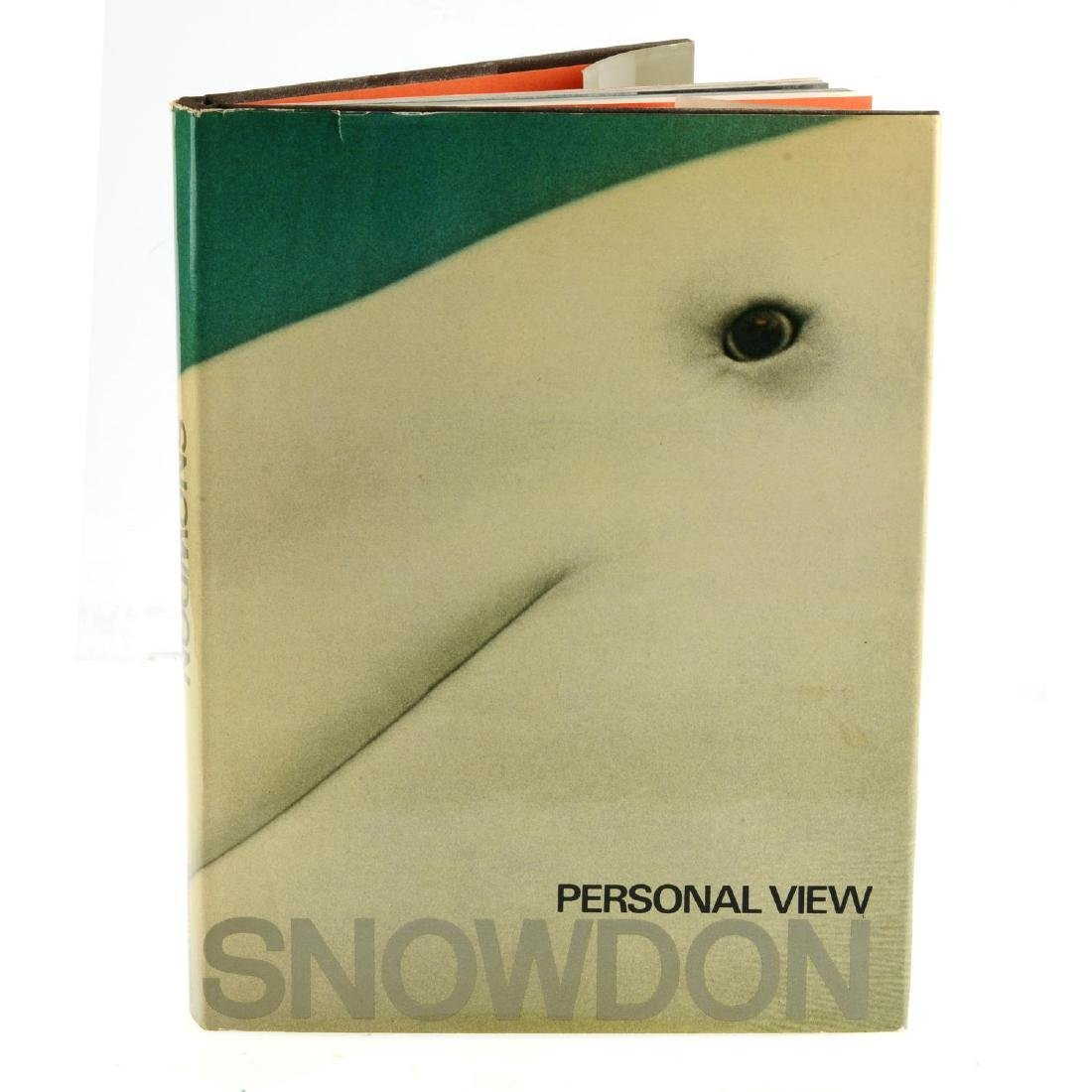 Tony Snowdon - Personal View - a signed book, with