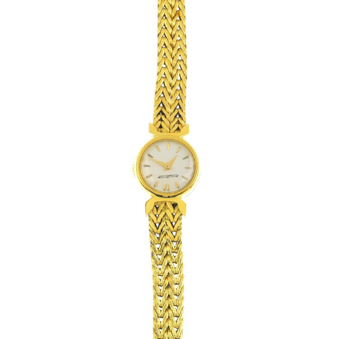 JAEGER-LECOULTRE  - a lady's bracelet watch. The