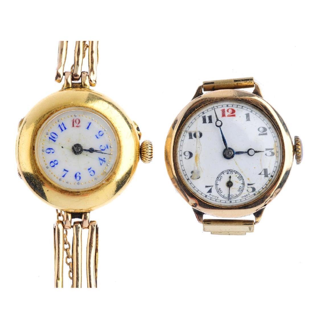 Two early 20th century watches. To include a lady's